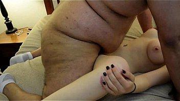 Fat Guy fickt Skinny Girl