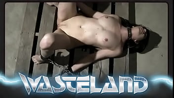 Suspended And Stripped Naked Hot Submissive Gets Dominated With Whips Spanking And Nipple Clamps