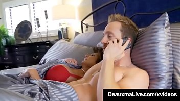 Big Round Boobed Cougar Deauxma covers Kelly Madison's eyes & tricks her into a full blown 3 way that ends with them pussy fucking their way to orgasms! Full Video & Deauxma Live @ DeauxmaLive.com!