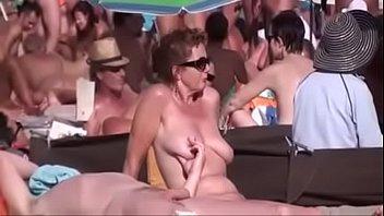 The hardest sex on the beach