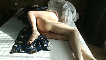 Real gentle sex of two lovers