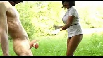 she hung a b. on my balls