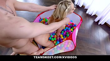Exxxtra Small - Petite babe Sky Pierce With Pigtails Drains Big Dick