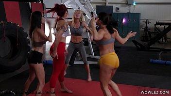 Gym Lesbian Sex