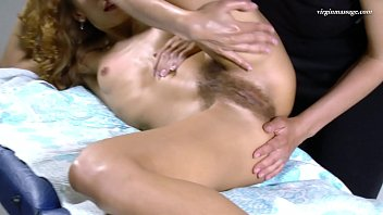 Oiled pussy massage girl to girl