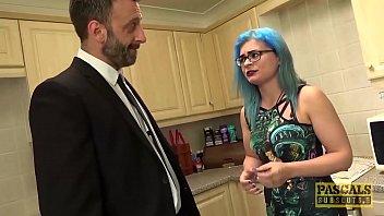 BDSM Daddy Fucks Scene Babe