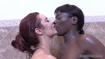 Lesbian Glam: Two Sexy Babes Get Down And Dirty