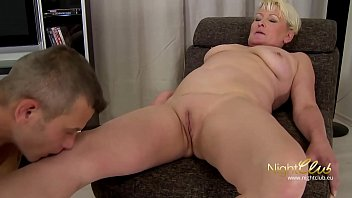 student with big cock for a old granny pussy , she love it