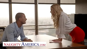 Naughty America - Khloe Kapri makes a sweet deal at the office and ends up getting fucked nice and hard