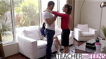 CASSIDY KLEIN MEGAN SAGE HOT TEACHER FUCKS STUDENTS