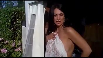 Topless Boobs Hot Bathroom Towel of Marika TV Anchor