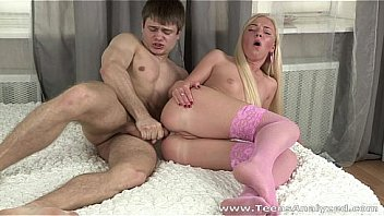 Teens Analyzed - This gorgeous blonde teeny looks so seductive