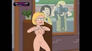 Dusty fucks Gina and cum inside