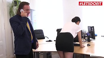 LETSDOEIT - German Office Girl Coco Kiss Has Some Hardcore Fun With Boss While His Colleagues Are Waiting
