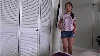 Big Step Brother Fucks Little Asian Step Sister
