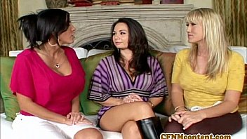 CFNm lover Holly West in an anal fourway