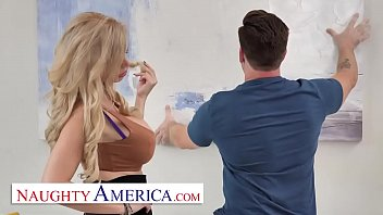 Naughty America - Casca Akashova gets a nice pounding after getting some help around the house