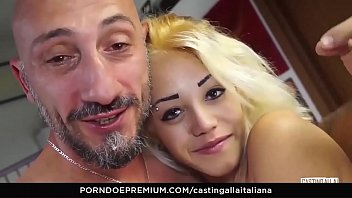 AMATEUR EURO - Tiny Petite Teen Rough Fuck On First Time Casting By A BWC