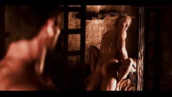 Jai Courtney - Sex Scene in Spartacus