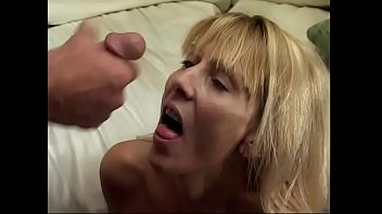 Horny milf Dallas Callan moans as a huge pole bangs her hairy pussy