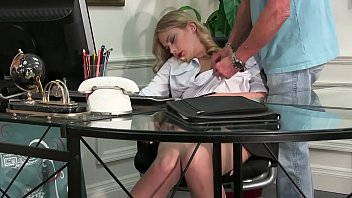Blonde Whore Nerve Pinched, Stripped, and Groped