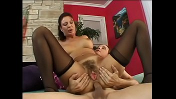 Busty mature brunette lady likes  getting her ass slammed with hard pole of her y. lover