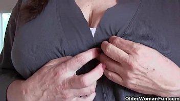 Fun com woman older Sweet Show