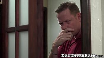 Mature guy plows friends teen daughter