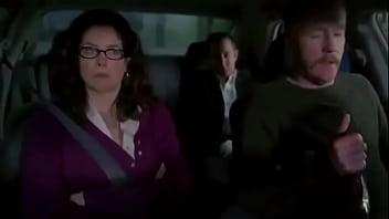 Hot Horny MILF Gives Handjob in Car