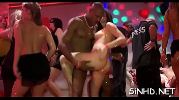 Loads of sexy pussies and wicked perky tits during orgy party