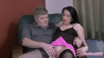 young slut gets fucked and creampied by her uncle