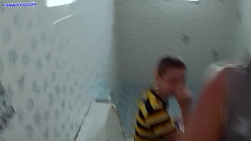 Cum inside me in public toilet!