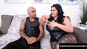 Huge Ass & Massive Boobed Cuban, Angelina Castro, shares a big black cock with world famous Milf Sara Jay, milking it until they get their cum! Full Video & Angelina Live @ AngelinaCastroLive.com!
