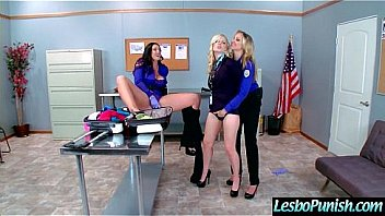 Punish Sex Action With Sex Toys Between Lesbians Girls (alison&charlotte&julia) video-12