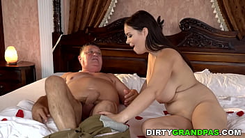 Busty Babe Fucks Her Sugar Daddy! What Nasty Teen!