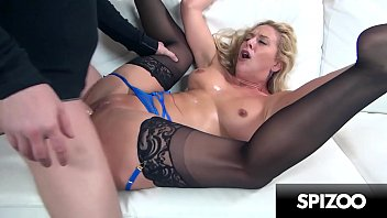 Super Slut Cherie DeVille gets her Face and Pussy Punished by huge cock