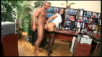 Watch She works for me and has sex with me preview