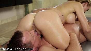 She Goes Sexually Crazy During Massage