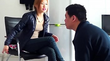 Chinese femdom gets her feet worshipped