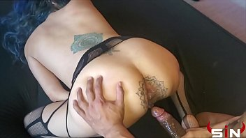 Anal whore gets used back to back