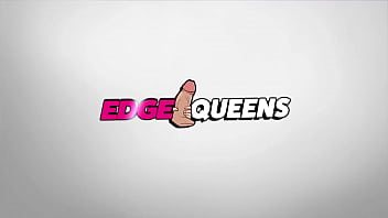 Hot blonde Harling Kin teases your cock in this hot POV edging handjob video from edge queens!