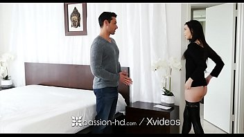 PASSION-HD Pretty face pale Bunnie Hughes dripping pussy fucked