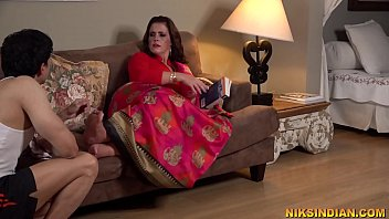 Pregnant indian bhabhi got her ass and pussy fucked by the servant