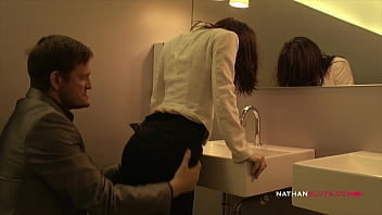 Mandhandled Milf Ava Courcelles Gets Drilled By Pervert Ian Scott's Big Fat Cock In Public Toilet - 4K