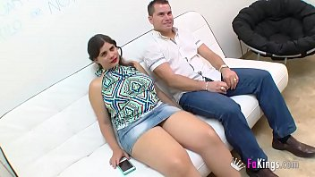 He sells his big boobed girlfriend to fuck some random guy