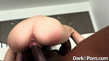 White blonde fucked by a black guy