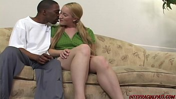 Daddys girl Jamie takes a huge black cock fucking and loves it that interracial sex