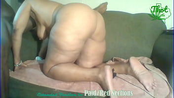 Cuvry ebony Thot bubble booty creampied And Lied Squirting Granny Part 1 Short Version