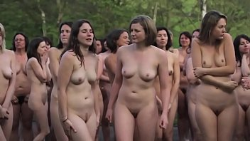Nude group of girls at UK