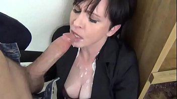 amateur mature blow job finish